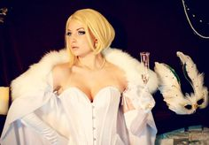 Character: Emma Frost (aka The White Queen) / From: MARVEL Comics 'The Uncanny X-Men' / Cosplayer: Jessie Lloyd (aka Cosplay Butterfly) / Photo: Jessie Lloyd 2014