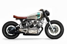 Virago Cafe Racer, Yamaha Cafe Racer, Yamaha Virago, Cafe Bike, Cafe Racer Motorcycle, Moto Bike, Motorcycle Design, Brat Bike, Buell Motorcycles