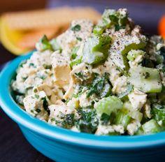 Easy Tofu Crunch Salad Recipe