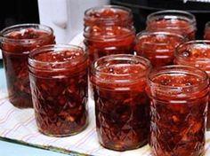 cranberry jam...