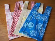 エコバックの作り方 Sewing Hacks, Sewing Crafts, Sewing Projects, Cotton Shopping Bags, Costura Diy, Origami Bag, Crochet Market Bag, Purse Tutorial, Linen Bag
