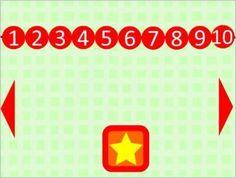 Μαθαίνω να μετράω αριθμούς από το 1 – 10  Με αυτό το παιχνίδι οι μικροί μας φίλοι θα γνωρίσουν τους αριθμούς 1 έως 10 με ένα πιο διασκεδαστικό τρόπο . Στην πρώτη διαφάνεια πατώντας το αστεράκι θα εμφανίζονται αριθμημένες μπάλες με τη σειρά , έπειτα πατώντας τα βελάκια για την επόμενη διαφάνεια πατάμε το αστέρι και παρουσιάζονται φρούτα και λαχανικά ομαδοποιημένα κατά αριθμό. Games, Logos, Teaching Ideas, Count, Kids, Logo, Gaming, Plays, Game