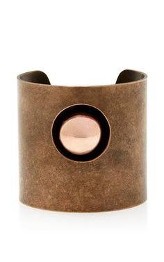 Dark Rose Gold Large Cuff by Tomas Maier  268f9c2d7a8b8