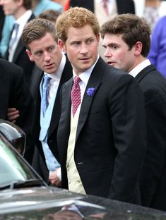 Prince Harry Photos - Prince Harry attends the wedding of Melissa Percy and Thomas van Straubenzee at Alnwick Castle on June 22, 2013 in Alnwick, England. - The Wedding Of Melissa Percy & Thomas Van Straubenzee