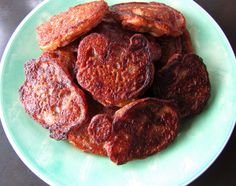 Banana Pear Fritters & Pancakes made with Cassava Flour (paleo, AIP, vegan), from Flash Fiction Kitchen