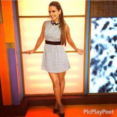 Ximena cordoba look of the day, dress, tv fashion, despierta america