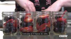 Frutas en frascos