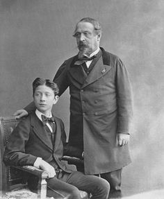 The emperor napoleon iii and Young Prince imperial Louis Eugênio napoleon Vintage Clothing, Vintage Outfits, French Royalty, Young Prince, Second Empire, French Empire, Napoleon, Emperor, Family Portraits