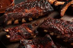 Easy BBQ Baby Back Pork Ribs – This recipe made the best ribs I've ever had! Easy BBQ Baby Back Pork Ribs – This recipe made the best ribs I've ever had! Pork Rib Recipes, Grilled Steak Recipes, Grilling Recipes, Cooking Recipes, Crockpot Recipes, Bbq Ribs, Bbq Pork, Baby Back Pork Ribs, Homemade Barbecue Sauce