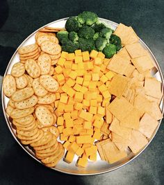 Carrot shaped cheese tray