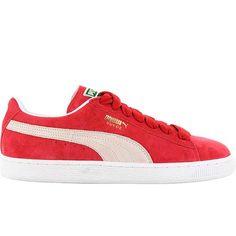 puma Suede Classic Eco rouge/blanc