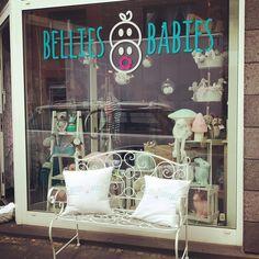 Cute storefront, Bellies and Babies, Köln.
