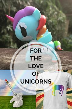 Because unicorns can brighten just about anyone's day. Here are a few to add to your corner of the world or gift to someone in your life.