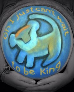 Pregnant belly painting! @lishelleanne #bellypainting #pregobelly #pregnantbelly #babyboy #simba