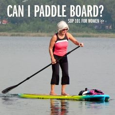 SUP for Women: Answers to Your Questions Ask any women who has been stand up paddle boarding (SUP) for a. Sports Today, Paddle Boarding, I Fall, Stand Up, Crossfit, Tired, Rave, Deck, Yoga