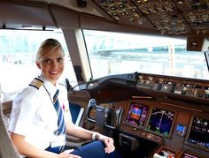 Ashley Klinger is a self-proclaimed 'girly girl' and is also a Boeing 777 captain, and pilot for Emirates.