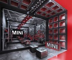 CONCEPTUAL IDEA OF THE FLAGSHIP STORE FOR YONG AND PROVOCATIVE ROCK'N ROLL STYLE BRAND ORIGINALLY FROM UKMINI brand is those rare example of the brands with the strongest style and very clear message. It doesn't try to be innovative or respectable. MINI…