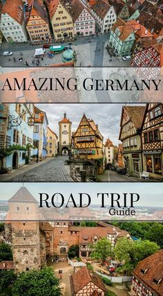 Amazing Germany road trip guide ermany is an easy country to get round and it is no wonder why you are searching for a way to make your Germany road trip a reality Rentin. Visit Germany, Germany Europe, Germany Travel, Europe Europe, Trip To Germany, Bavaria Germany, Europe Travel Tips, Places To Travel, Travel Destinations