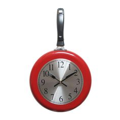 10 Polegadas Frigideira Relógio Criativo Quartz Relógio de Parede Da Cozinha do…