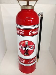 Vintage Collectible Restored Coca Cola Fire Extinguisher