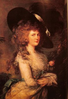 Gainsborough, the Duchess of Devonshire. Great-great-great-great aunt of Princess Diana.