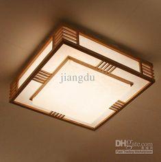 Wholesale Ceiling Light - Buy Fresh Wood Modern Chinese Style Lamp Lighting Lamps Logs Japanese Style Tatami Ceiling Light Bedroom Lights, $359.84 | DHgate.com
