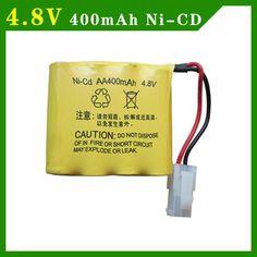 2pcs/packaging 4.8V 400mAh AA 4 in 1 Ni-Cd battery set  Huanqi RC Tank 508 550 RC Car HQ 611 605