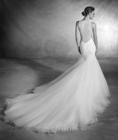 61944ffbcd Pronovias Nuala Now available at Bowties Bridal 702 456-5688 Pronovias  Bridal