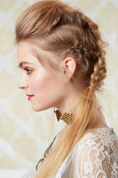 Undercut French Braid