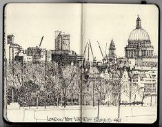 Ian Sidaway Fine Line: London
