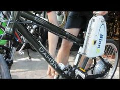 Dahon Matrix--- A custom BionX Electric Bike