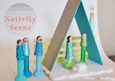 #DIY nativity scene for kids