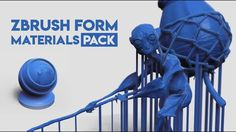 Here is a quick overview of what this ZBrush Materials pack is all about and what's included in the bundle.     For more info about the Materials pack you can go to /www.zbrushguides.com/zbrush-form-materials-pack/