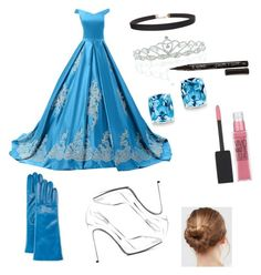 """""""Cinderella"""" by shazz007 ❤ liked on Polyvore featuring Reception, Yves Saint Laurent, Humble Chic, Portolano, ASOS, Kate Marie, Smith & Cult, Kevin Jewelers and Maybelline"""