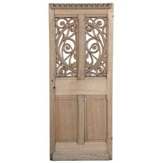 Antique French Gothic Pantry Door | From a unique collection of antique and modern doors and gates at http://www.1stdibs.com/furniture/building-garden/doors-gates/