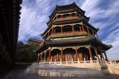 The Tower of Buddhist Incense in the Summer Palace