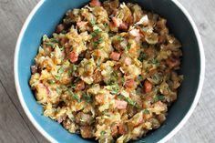 Gerechten zonder pakjes en zakjes #127. Zwitserse aardappelschotel (Aviko) Tefal Actifry, Multicooker, Stir Fry, Fried Rice, Fries, Potatoes, Ethnic Recipes, Kitchen, Food