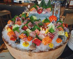 Sushi Taco, My Sushi, Sushi Love, Seafood Recipes, Keto Recipes, Japanese Food Sushi, K Food, Seafood Platter, Food Garnishes