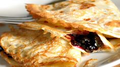 Crepes with Spicy Plum Filling Gourmet Food Gifts, Gourmet Recipes, Lemon Crepes Recipe, Crepe Recipes, Vegan Christmas, Recipe Using, Family Meals, Sweet Treats, Brunch