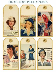 Vintage stewardess images. . .I wanted to be hired by United or American Airlines.....Me Too