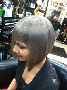 Bildergebnis für transition to grey hair with highlights