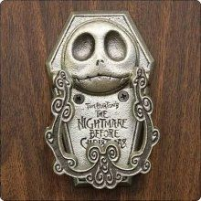 Nightmare Before Christmas Jack Bite Pewter Door Knocker    @Melanie McDermott I thought of you when I saw this.