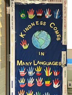 Our ESL classroom Door.