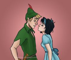 Thalia Grace and Luke Castellan as Peter Pan and Wendy. I didn't realize how much I needed this in my life.