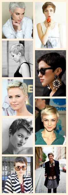 Perfect Pixies 5 - A Beautiful Little Life - Click through for more great short hair images!