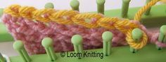 Loom Knitting: Flat Bind Off method. Very detailed, clear instructions: THE BEST in my opinion