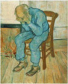 """""""A teoria mais aceita hoje, sobre Van Gogh, defende que o pintor possuía transtorno bipolar, o que ocorre de forma relativamente comum com epilepsia do lobo temporal, lobo frontal ou amígdala centro-medial. A falta de medicamentos e a marginalidade fizeram a doença ter um curso trágico e crises difíceis para Van Gogh; sem dúvida a bebida piorou o padrão de crises e, como se sabe atualmente, a bipolaridade é uma das maiores causas de suicídio dentre as doenças mentais."""""""