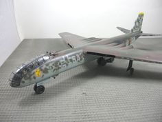Junkers EF 132 model.  The EF 132 was a planned jet bomber, under development for the Luftwaffe during World War II.  It was the last aircraft project development undertaken by Junkers during the war, and was the culmination of the Ju 287 design started in 1942.  Six Junkers Jumo 012 jet engines, each of which developed 5,500 lbf of thrust, were buried in the wing roots.