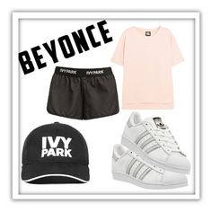 """""""Trainer : Ivy Park"""" by bronzebrookiepro on Polyvore featuring Ivy Park and adidas"""