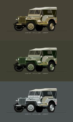 Willys Jeep Prints by Nik Schulz Cj Jeep, Jeep 4x4, Jeep Truck, Silverado Truck, Willys Mb, Truck Paint, Monster Truck Birthday, Jeep Wrangler Unlimited, Jeep Life